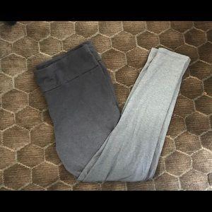 XL Calvin Klein grey ombre legging